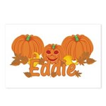 Halloween Pumpkin Eddie Postcards (Package of 8)