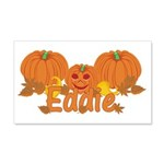 Halloween Pumpkin Eddie 20x12 Wall Decal