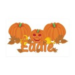 Halloween Pumpkin Eddie 35x21 Wall Decal