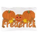 Halloween Pumpkin Frederick Pillow Case