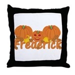 Halloween Pumpkin Frederick Throw Pillow