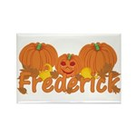 Halloween Pumpkin Frederick Rectangle Magnet