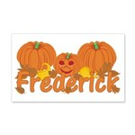 Halloween Pumpkin Frederick 20x12 Wall Decal