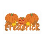 Halloween Pumpkin Frederick 35x21 Wall Decal