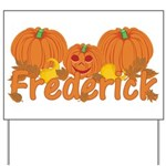 Halloween Pumpkin Frederick Yard Sign