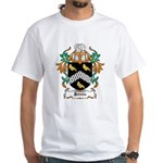 Jervis Coat of Arms White T-Shirt