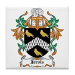 Jervis Coat of Arms Tile Coaster
