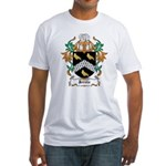 Jervis Coat of Arms Fitted T-Shirt