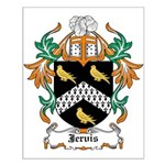 Jervis Coat of Arms Small Poster