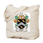 Jervis Coat of Arms Tote Bag