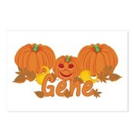 Halloween Pumpkin Gene Postcards (Package of 8)
