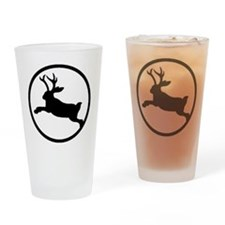 Jackalope Drinking Glass