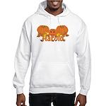 Halloween Pumpkin Harold Hooded Sweatshirt