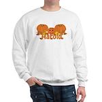 Halloween Pumpkin Harold Sweatshirt