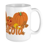 Halloween Pumpkin Harold Large Mug