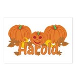 Halloween Pumpkin Harold Postcards (Package of 8)