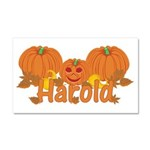 Halloween Pumpkin Harold Car Magnet 20 x 12