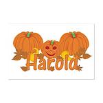 Halloween Pumpkin Harold Mini Poster Print