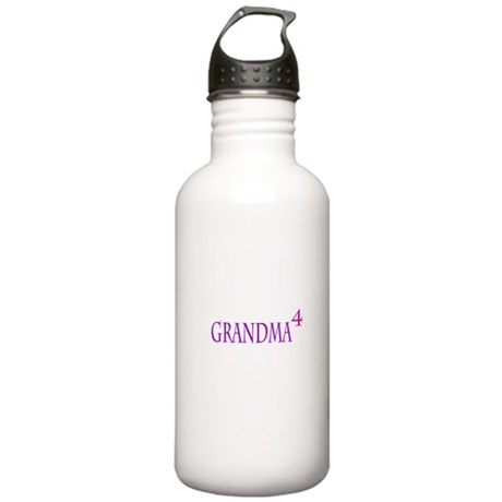 Grandma of Four Stainless Water Bottle 1.0L