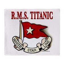 White Star Line: RMS Titanic Throw Blanket