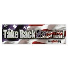 Take Back America Bumper Sticker
