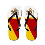 Italy Sicily Sicilia Sicilian Flip Flops