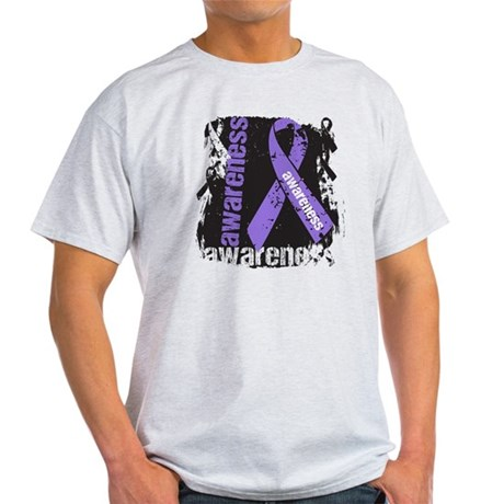 Grunge Hodgkin Lymphoma Light T-Shirt