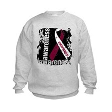 Grunge Head and Neck Cancer Sweatshirt