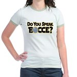 Do You Speak Bocce? Jr. Ringer T-Shirt