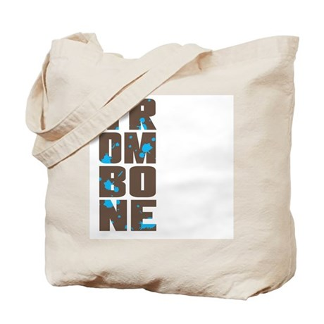 Asymmetrical Trombone Tote Bag