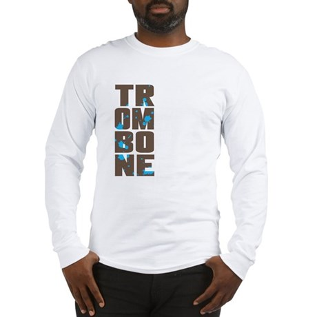 Asymmetrical Trombone Long Sleeve T-Shirt