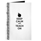 Keep calm and teach on Journal