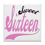 Sweet Sixteen Tile Coaster