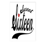 Sweet Sixteen Postcards (Package of 8)