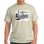Sweet Sixteen Ash Grey T-Shirt