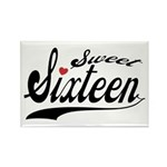 Sweet Sixteen Rectangle Magnet (10 pack)