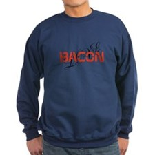 bacon makes me happy Sweatshirt