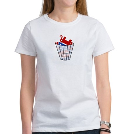 Republican Trash Womens T-Shirt