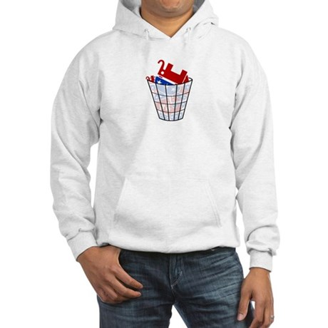 Republican Trash Hooded Sweatshirt