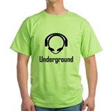 Underground Alien Headphones T-Shirt