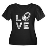 Dear GOP Women's Plus Size V-Neck Dark T-Shirt