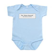 Rahm is Choking What?!? Infant Bodysuit