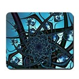 Bird's Nest Fractal Mousepad