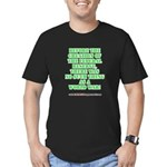 The Federal Reserve and World War Men's Fitted T-S