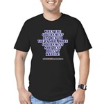 Government buries Men's Fitted T-Shirt (dark)