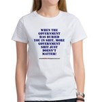 Government buries Women's T-Shirt