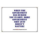 Government buries Banner