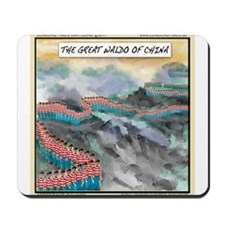 Great Waldo Of China Mousepad