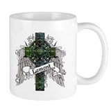 Lamont Tartan Cross Small Mug
