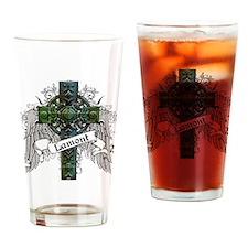 Lamont Tartan Cross Drinking Glass